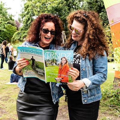 TRNDZ sponsoring dames lezen magazine